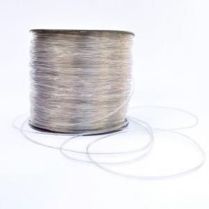 Cordão silicone transparente